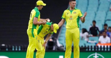 Injured Warner ruled out, Cummins rested for rest of limited-overs series against India