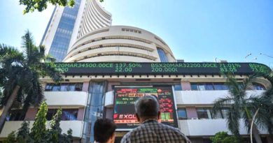 Sensex rallies over 300 pts to scale fresh intra-day peak; Nifty tops 13,200